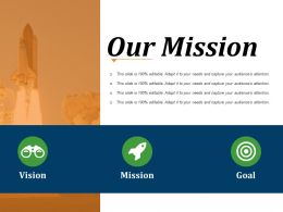 Our Mission Powerpoint Slide Inspiration
