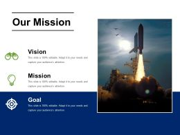 Our Mission Powerpoint Slide Presentation Examples