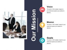 Our Mission Powerpoint Slide Presentation Guidelines Template 1
