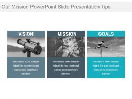 Our Mission Powerpoint Slide Presentation Tips