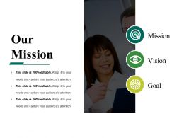 Our Mission Powerpoint Slide Themes