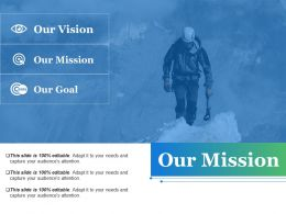 Our Mission Powerpoint Slides Templates