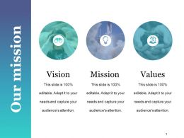 Our Mission Powerpoint Templates Microsoft Template 1