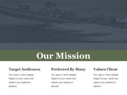 Our Mission Powerpoint Themes