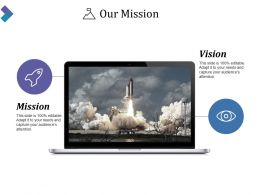 Our Mission Ppt Background Graphics