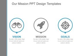 Our Mission Ppt Design Templates