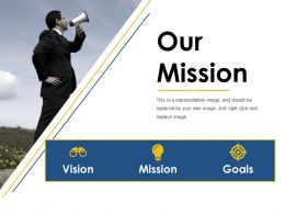 our mission ppt diagrams