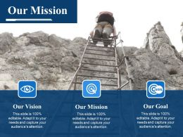 Our Mission Ppt Example 2015