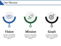 Our Mission Ppt Examples Professional
