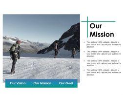 Our Mission Ppt File Design Inspiration