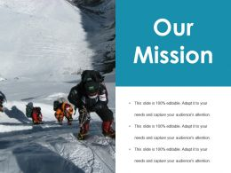 Our Mission Ppt File Good