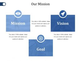 Our Mission Ppt File Sample