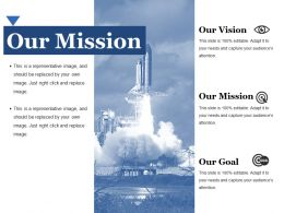 Our Mission Ppt File Templates