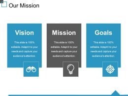 Our Mission Ppt Graphics