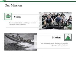 Our Mission Ppt Icon