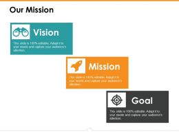 Our Mission Ppt Icon Background Images