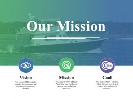 Our Mission Ppt Icon Graphics Design