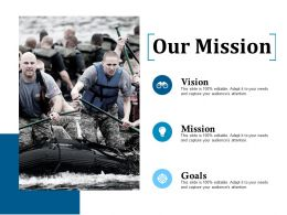 Our Mission Ppt Icon Microsoft