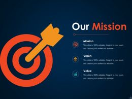 Our Mission Ppt Icon Templates