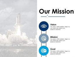 Our Mission Ppt Infographic Template Influencers