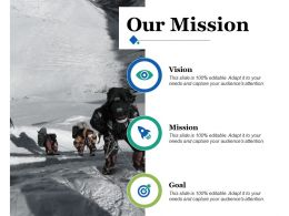 Our Mission Ppt Infographics Graphics Tutorials