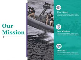 Our Mission Ppt Infographics Guide