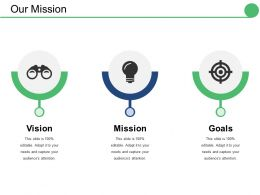 Our Mission Ppt Inspiration Good