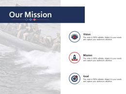 Our Mission Ppt Inspiration Picture
