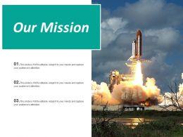Our Mission Ppt Inspiration Slide Download
