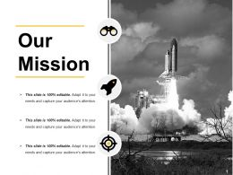 Our Mission Ppt Inspiration Summary