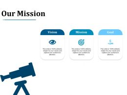 Our Mission Ppt Layouts Guide