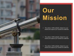 Our Mission Ppt Pictures