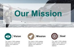 Our Mission Ppt Pictures Display