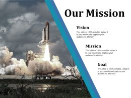 Our Mission Ppt Pictures Maker