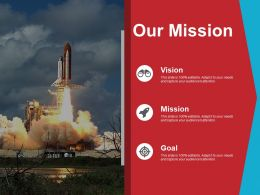 Our Mission Ppt Portfolio