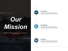 Our Mission Ppt Portfolio Background Images