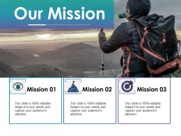 Our Mission Ppt Portfolio Graphics Tutorials