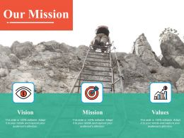 Our Mission Ppt Powerpoint Presentation File Information