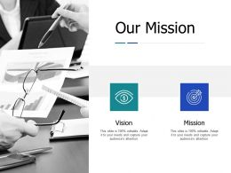 Our Mission Ppt Powerpoint Presentation Gallery Show