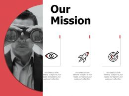 Our Mission Ppt Powerpoint Presentation Infographic Template Summary