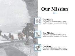 Our Mission Ppt Professional Graphics Pictures