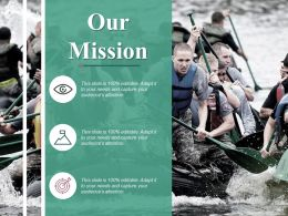Our Mission Ppt Professional Outfit