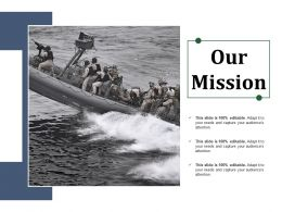 Our Mission Ppt Sample File