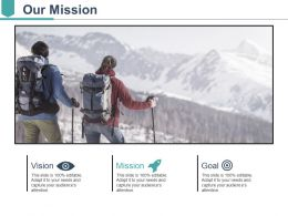 Our Mission Ppt Sample Presentations