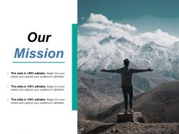 Our Mission Ppt Samples