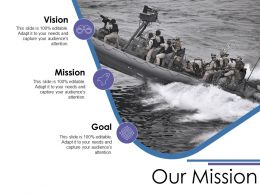 Our Mission Ppt Show Example