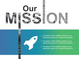 Our Mission Ppt Slides Design Ideas