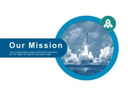 Our Mission Ppt Slides Infographics