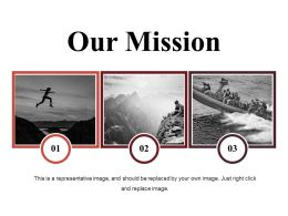 Our Mission Ppt Slides Layout Ideas