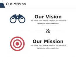Our Mission Ppt Slides Master Slide